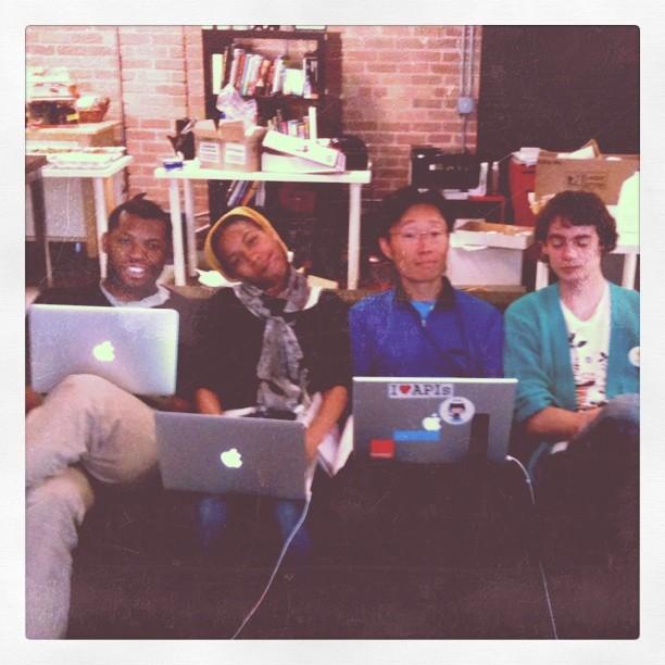 Imaiku team at Startup Weekend